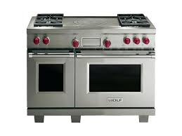 french top range. Wolf 36 Range Double Oven Dual Fuel With French Top