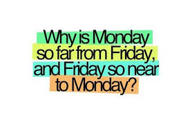 Monday Quotes Amazing Monday Quotes What Is Monday So Fer From Friday And Friday So
