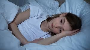Sleeping teen girls get