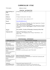 Sample Resume Format For Diploma Mechanical Engineers Engineer Cv