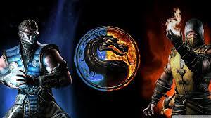 mortal kombat x subzero vs scorpion 4k hd desktop wallpaper for