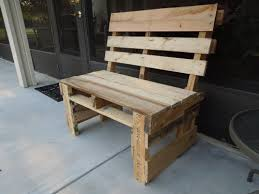 Wood Pallet Porch Bench and Cabinet by rosmunda.