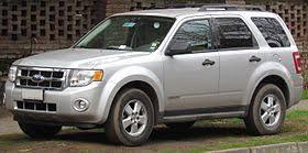 2008 ford escape tire size ford escape wikipedia