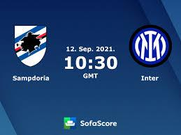 Sampdoria - Inter Live ticker, H2H und Aufstellungen