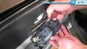 How To Install Replace Inside Door Handle Honda Accord 94 97 1AAuto