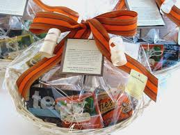 blebdesign tea basket 50 with custom thank you message