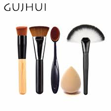 4pcs best makeup brush set powder foundation beauty essentials directory nanacorner beauty