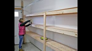 cabinet wall how garage build shelving storage panels fast easy and shelves garage brilliant ideas for