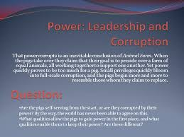 themes in animal farm ppt video online  themes in animal farm 2 power leadership and corruption