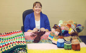 Weaving kindness: Local woman makes comfort dolls for kids entering  emergency foster care   The Globe