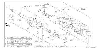 28321sc033 genuine subaru drive shaft assembly front 2010 Subaru Forester Engine Diagram 2010 subaru forester front axle diagram 280_02 2010 Subaru Forester X Limited