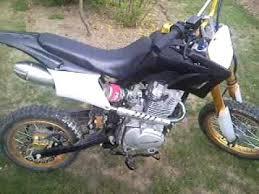 200cc loncin dirt bike youtube