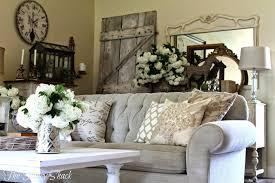 Rustic Shabby Chic Living Room Interior Design
