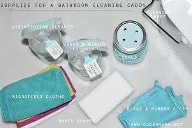bathtub cleaning tools supplies for a bathroom cleaning via clean mama bathtub cleaning power tools