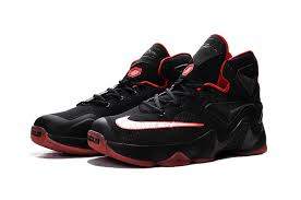 lebron shoes 2015 red. cheap mens nike lebron 13 black and red for sale-3 lebron shoes 2015