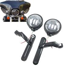 for harley davidson motorcycle parts 4 5 led auxiliary fog