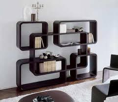 shelf life unit or room divider modern bookcase design ideas
