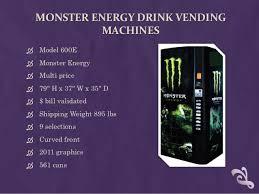Monster Vending Machine Cool Vending Machines
