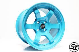 rota wheels 4x100. rota wheels - grid concave 15x9 +36mm 4x100 67.1 hub teal set of 4