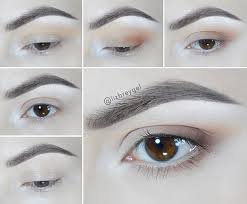 easy simple day everyday eye makeup for brown eyes matte eyeshadow janaury