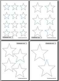 printable star printable star easy printables