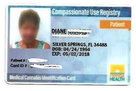 Florida Card Identification Of Picture