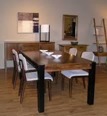 pedestal dining room table. Rectangular Pedestal Dining Table Room Contemporary With Modern Wood. Image By: Gingko Home Furnishings