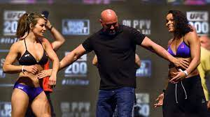 UFC 200 Weigh-In: Miesha Tate and ...