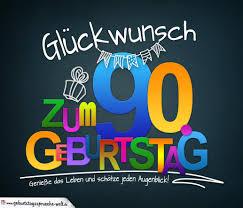 Sprüche Zum 90 Geburtstag Karte Mit Schönem Spruch Zum Nachdenken
