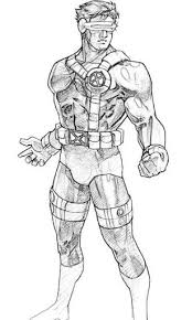 Well you're in luck, because here they come. X Men Superheroes Printable Coloring Pages