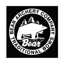 BEAR ARCHERY VINTAGE LOGO VINYL STICKER DECAL Window BOW HUNTING ...