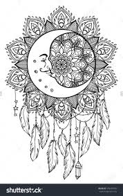 Native American Coloring Pages Designs Indian 985999 Attachment
