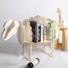cute furniture.  Furniture 94cm L Creative Sheep Bookshelf Cute Wood Animal Furniture Europe Modern  Design Vintage Intended