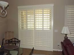 new plantation shutters for sliding glass doors