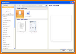 Microsoft Office Word 2007 Templates Download Free Pre Built