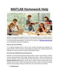 matlab homework help service by my homework help online issuu page 1 matlab homework help