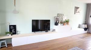 Ikea Besta Hack Ikea Besta 2 In 1 Zitbank Tv Meubel Interiorqueen