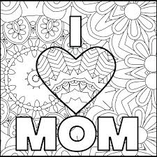 1 Mom Coloring Pages Jumppartyorg