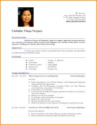 Latest Resume Format Free Resume Templates 2018