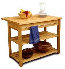 Contemporary Harvest Table W/ Drop Leaf Kitchen Island   Catskill Craftsmen