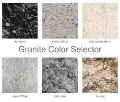 granite countertop color options minneapolis popular granite colors