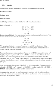 undoes what a function does the inverse matri undoes what the matri does