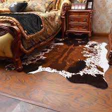 soft artificial fur carpet black white cow printed rugs and carpets for living room bedroom warm sofa decoration mats best carpet s shaw floors carpet