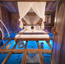 cool bedrooms with water. Lake Glass Bottom Bedroom Cool Bedrooms With Water O