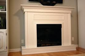 build a fireplace surround build fireplace surround plans
