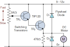dc motors and stepper motors used as actuators motor speed control circuit