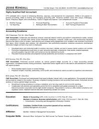 Accounting Assistant Resume Bestresume Com