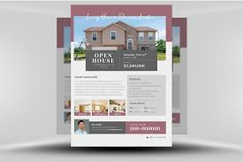 Remarkable Real Estate Flyer Templates Template Ideas For