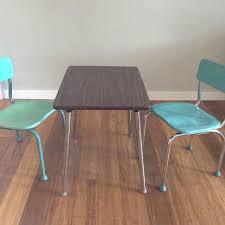 vintage 60s furniture. Vintage 60s Kids Table And Chairs. Vintage Furniture