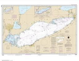 Estero Bay Depth Chart Amazon Com Noaa Chart 14820 Lake Erie Paper Sports